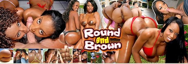 Black girls fucked-Round and Brown porn scenes