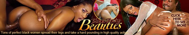 Black Booty Beauties - Big ebony butts fucked