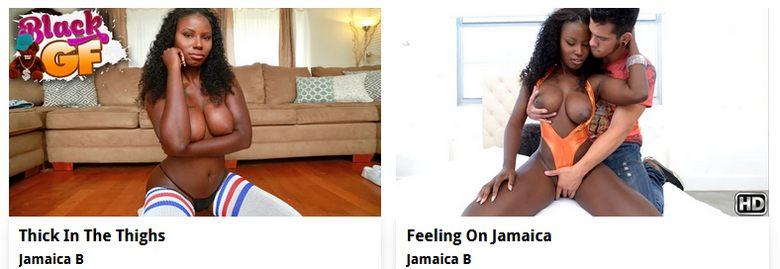 Jamaica B - Ebony porn actress