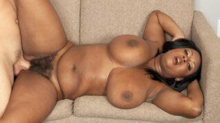 Busty Ebony Actress Aileen Ghettman