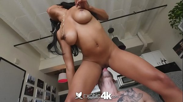 Anya Ivy busty young cutie gets a long white cock